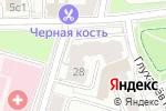 Схема проезда до компании Нотариус Ништ З.Л. в Москве
