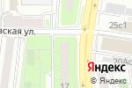 Схема проезда до компании Букеты роз в Москве
