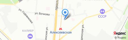 Фортс на карте Москвы