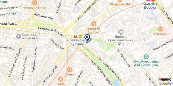 ПТФ АКАДЕМИЯ НАУЧНОЙ КРАСОТЫ на карте Москве