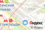 Схема проезда до компании Мама Ро в Москве