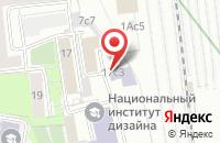 Схема проезда до компании Менатрон в Москве
