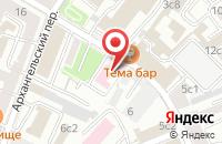 Схема проезда до компании Сома в Москве