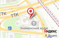 Схема проезда до компании Сервисдорстрой в Москве