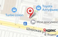 Схема проезда до компании Ингвар Пресс в Москве