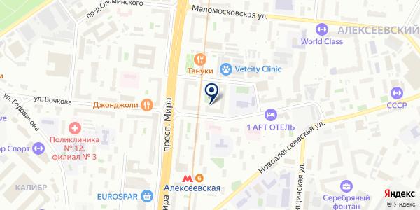 Общественный пункт охраны порядка на карте Москве