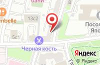 Схема проезда до компании Инвест Строй Авангард в Москве