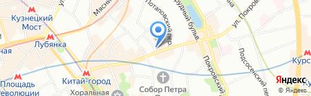 Путешественник-Травеллер на карте Москвы