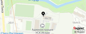 Top-Auto-Glass на карте Москвы