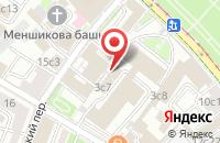 Схема проезда до компании Байкал-Медиаинформ в Москве