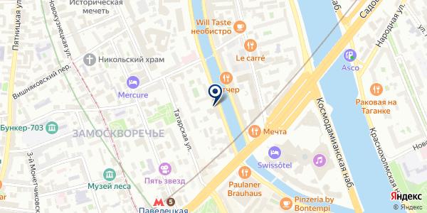 ВИКТОРИЯ+ на карте Москве