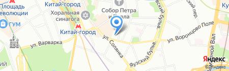 Банкомат КБ Энерготрансбанк на карте Москвы