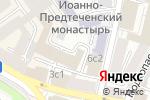Схема проезда до компании Лиджист в Москве