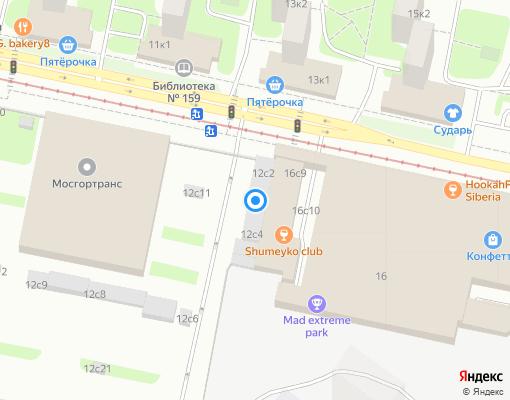 Управляющая компания «Система ПЛЮС» на карте Москвы