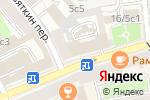 Схема проезда до компании Бонни Клайд в Москве