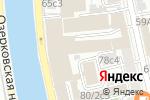 Схема проезда до компании Ikra.Black в Москве