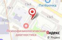 Схема проезда до компании Селлстроймат в Москве