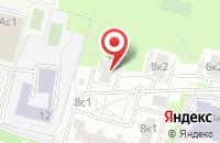 Схема проезда до компании Инвестиционная Строительная Компания в Москве