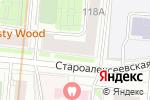 Схема проезда до компании Общественный пункт охраны порядка в Москве