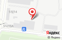 Схема проезда до компании Двина Продакшн в Москве