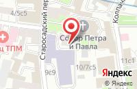 Схема проезда до компании Старый Сад в Москве