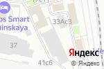 Схема проезда до компании Axiom в Москве