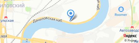 Соло на карте Москвы