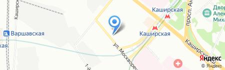 Авто-Стофф на карте Москвы