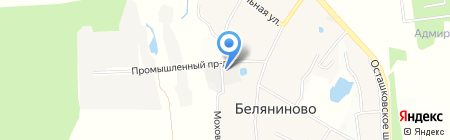 РосХимВолокно на карте Беляниново