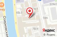 Схема проезда до компании Архстройдекор в Москве