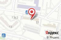Схема проезда до компании Комплексстрой в Москве