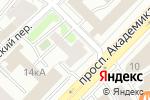 Схема проезда до компании Blanc de Blancs в Москве
