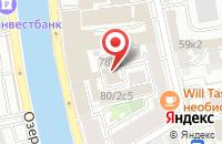Схема проезда до компании Ремарк в Москве