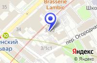 Схема проезда до компании ПТФ АЛЬФА-СИЛТЭК в Москве