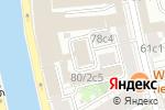 Схема проезда до компании Лаура в Москве