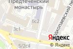 Схема проезда до компании Studio milosh в Москве