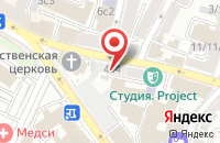Схема проезда до компании Алмазный дом Грэйс в Москве