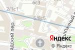 Схема проезда до компании Московский Союз художников в Москве