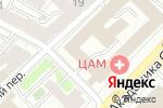 Схема проезда до компании Авиапром в Москве