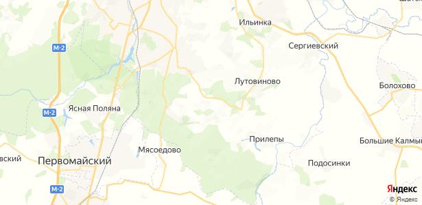 Фалдино на карте