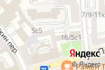 Схема проезда до компании Выписка.ру в Москве