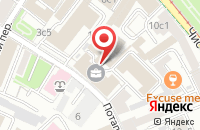 Схема проезда до компании Ман в Москве