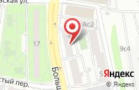 Схема проезда до компании Еимидж в Москве