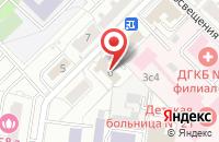 Схема проезда до компании Новолайн в Москве