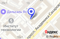 Схема проезда до компании ГАЛАКТИКА МГК в Москве