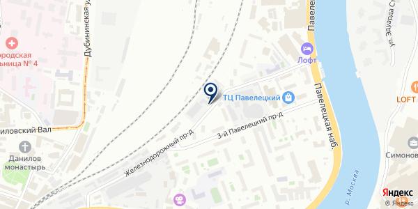 Бизнес Кар на карте Москве
