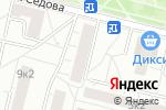 Схема проезда до компании Почтовое отделение №129323 в Москве