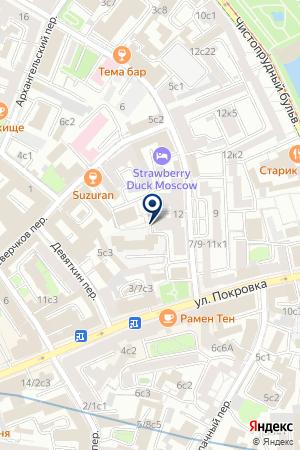 ФИНАНСОВАЯ КОМПАНИЯ КУМОСТ-ИНКАСС на карте Москвы