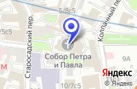 Схема проезда до компании МОСКОВСКОЕ ПРЕДСТАВИТЕЛЬСТВО ПРОИЗВОДСТВЕННОЕ ПРЕДПРИЯТИЕ ANALYTIK JENA AG в Москве