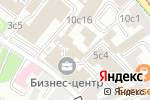 Схема проезда до компании Зарубежэнергострой в Москве